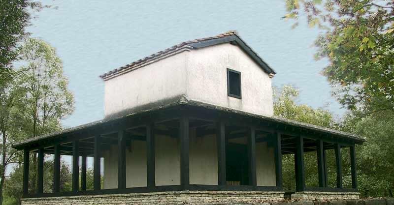 Vitruvio y la construcción de los templos. Fanum